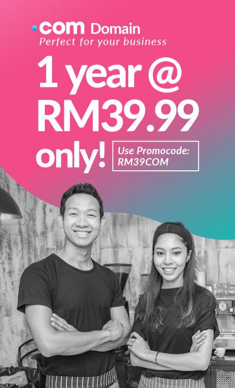 .COM Domain Promo