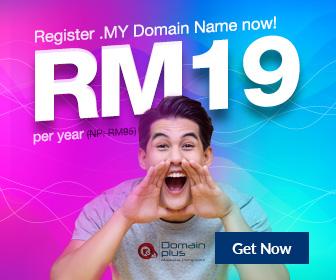 RM19 .MY Domain Promo